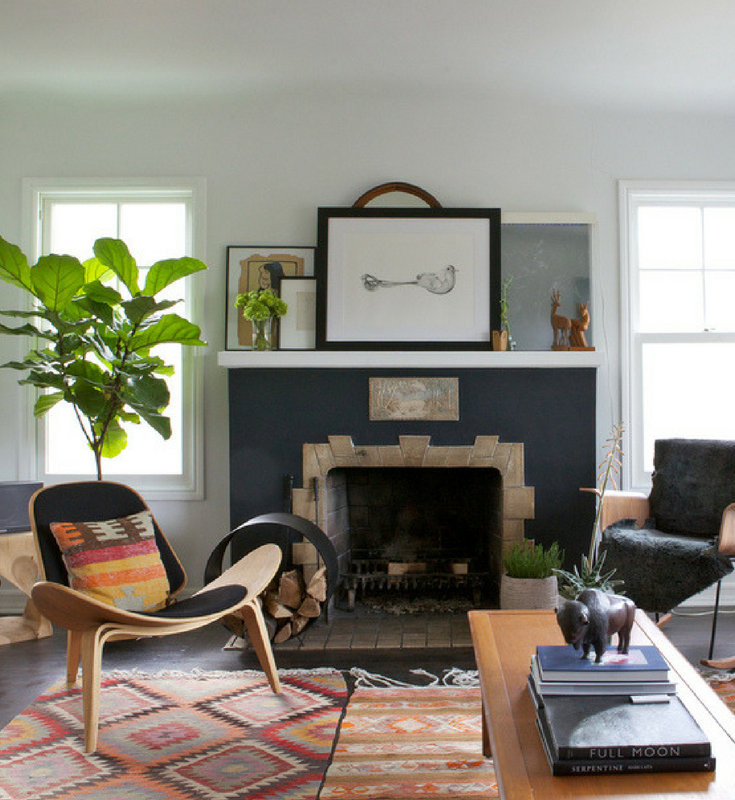 Where Retro and Modern Collide: Vintage Pieces in a Contemporary Home