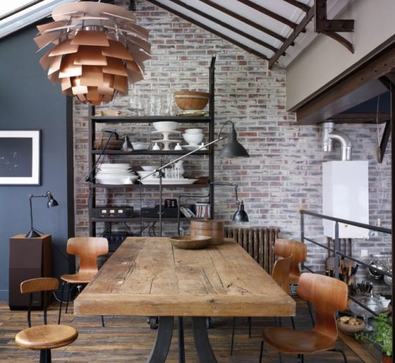 How to Get the Industrial Style