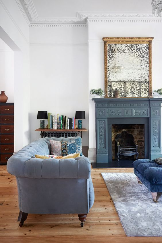 The Seven Most Beautiful Antique Fireplaces on Vinterior