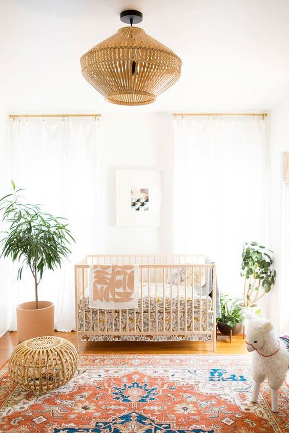 Trend Alert: Boho Kid's Room with a Vintage Touch