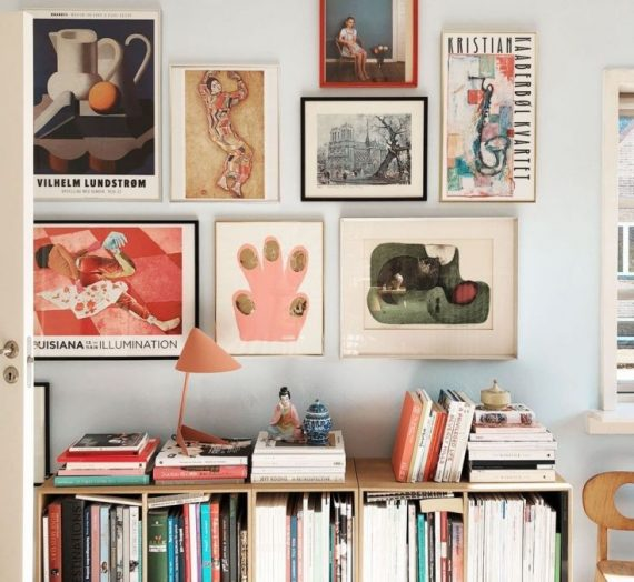 How to Create a Gallery Wall by Yourself