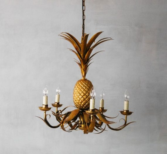 Fill your Home with Character: Golden Pineapples!
