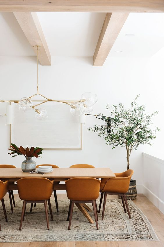 Get the Look: Mid Century Modern Dining Room