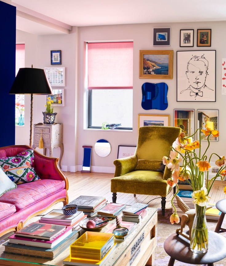 Get the Look: New York Maximalist Living Room
