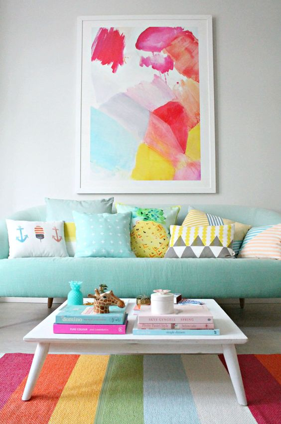 Feel inspired by these colourful alternatives to wooden furniture…