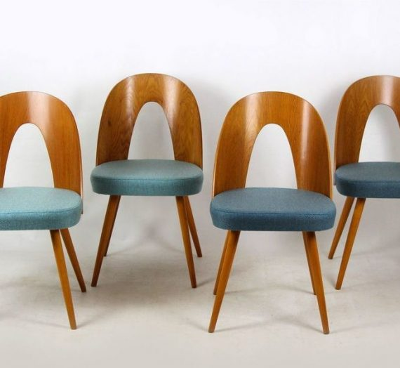 The best of Czech design: Feast your eyes on chairs by Jindřich Halabala and Antonín Šuman