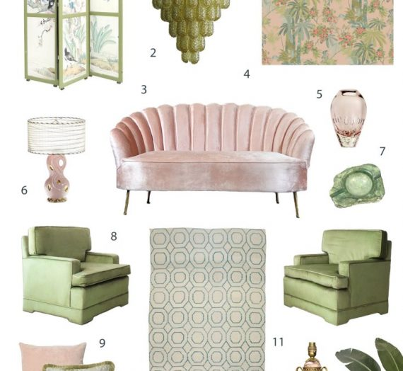 Spring Edit: Inspiration for Mixing Pink and Green