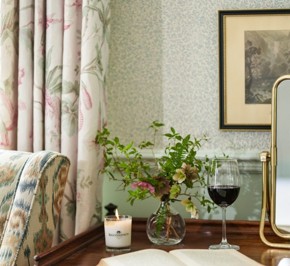 We hear from the designer behind the magical Ballynahinch Castle Hotel in West Ireland