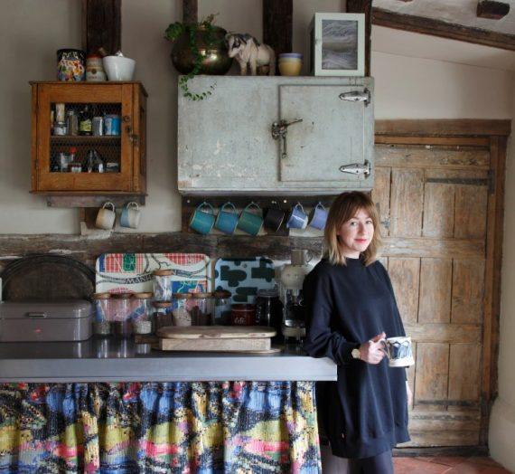 The Curious House: designer Joanne Burgess talks salvaging antique finds