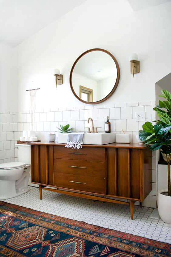 Whether tiny or spacious, create the bathroom of your dreams with these mid century sideboards. Intrigued? Read on.