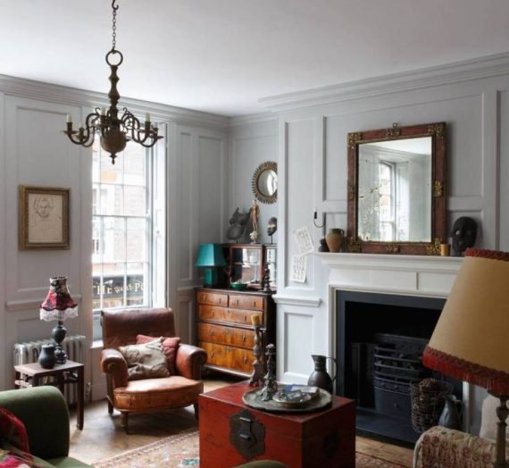 Create your own characterful living room with these timeless antique finds