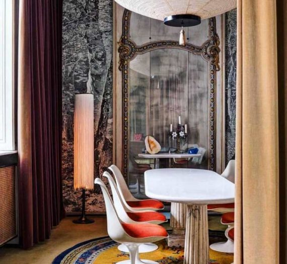 Stylish ways to decorate with gilt mirrors
