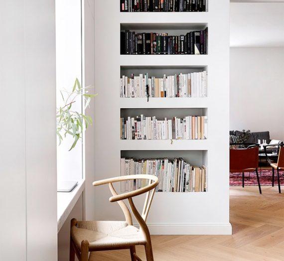 Minimalist bookcases for lovers of Danish design