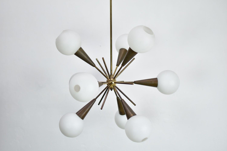 sputnik chandelier vintage