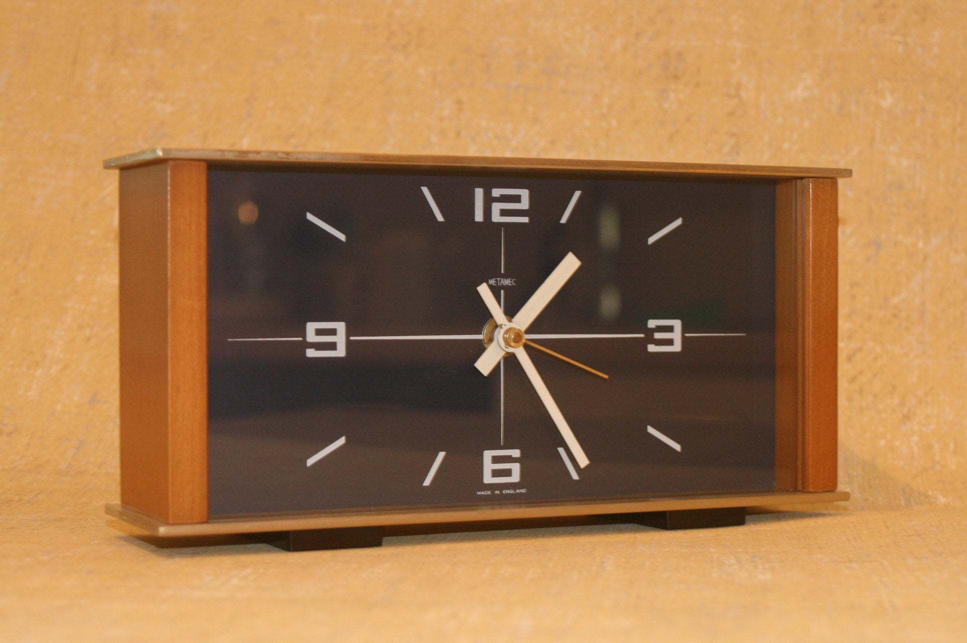 metamec vintage clock