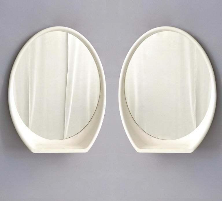 mid century wall mirrors vintage