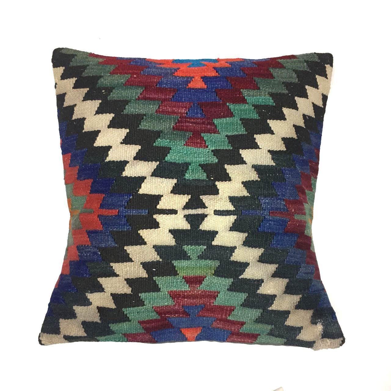 kilim vintage rug cushion