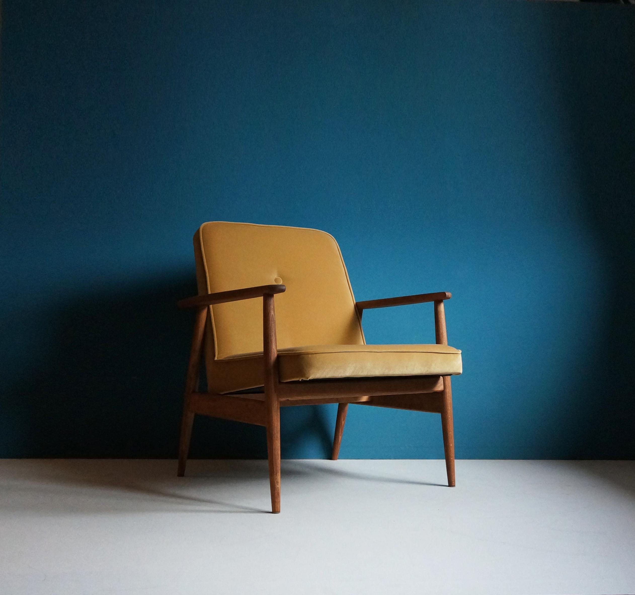 mid century vintage armchair