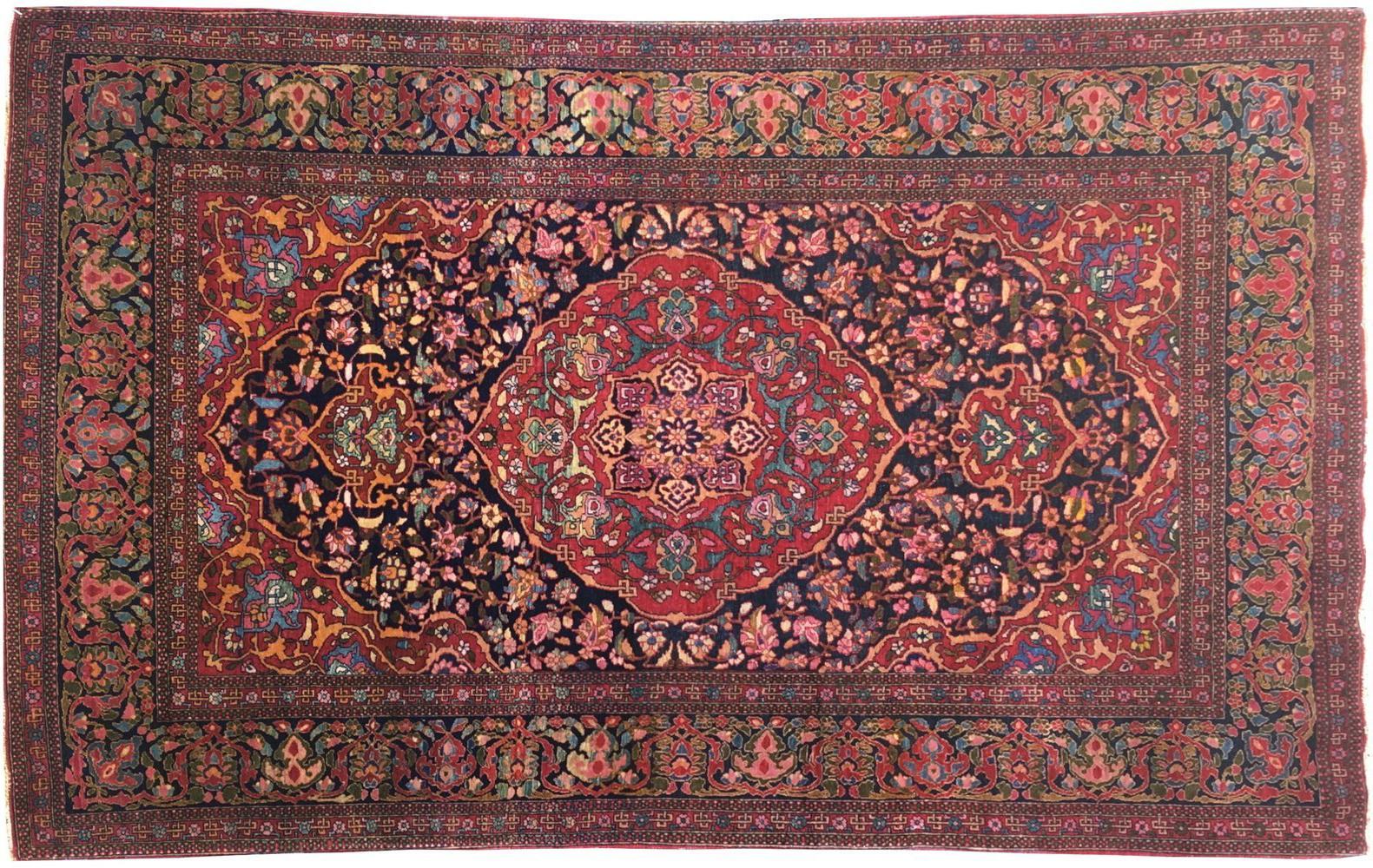 vintage antique rug persian