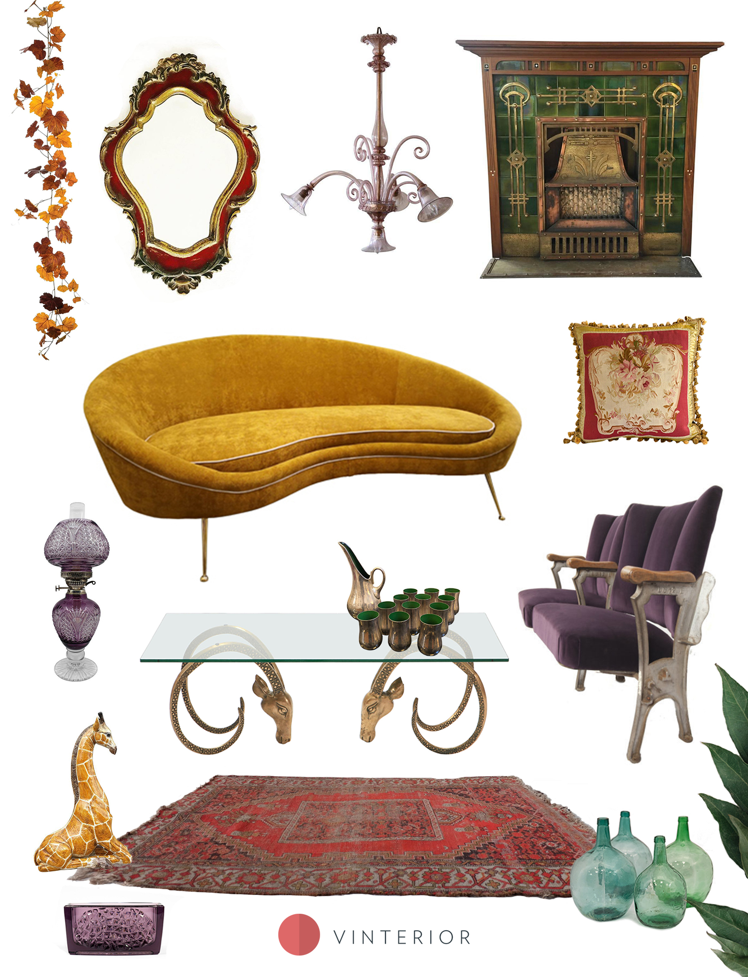 Get the Look: Jewel-toned furniture and decor