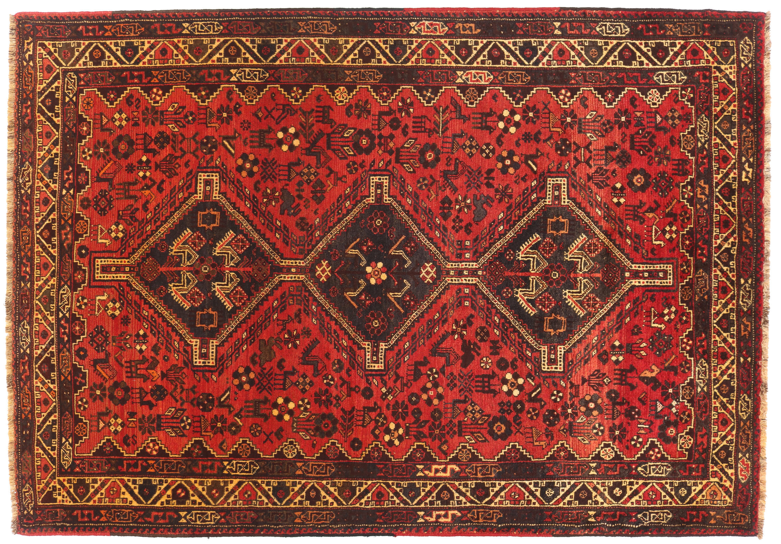 persian rug antique vintage traditional