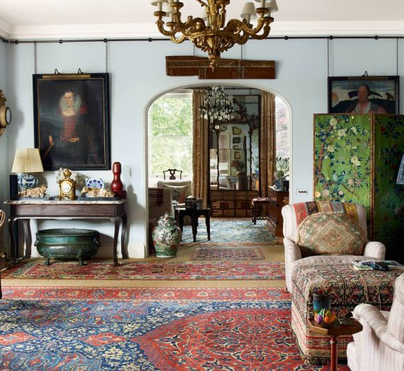 Your guide to antique rugs from expert dealer Mehdi Sharafi