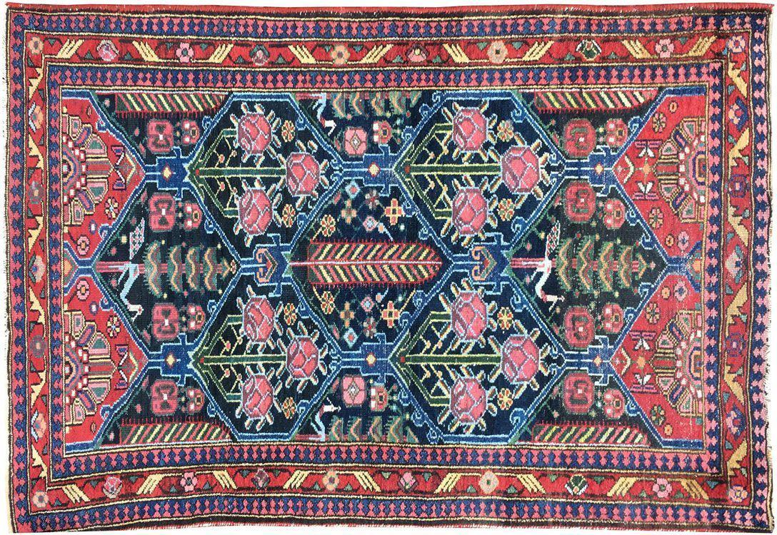 persian rug antique vintage