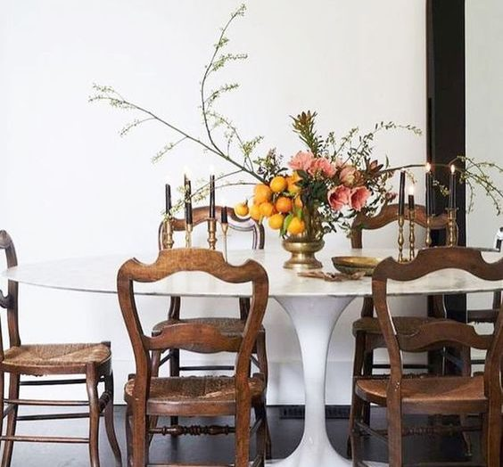 Vintage style: how to create a wonderfully eclectic dining room