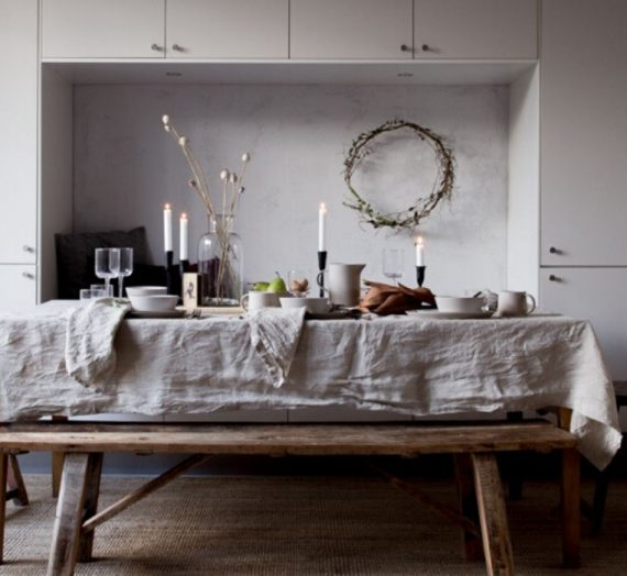 New ideas for styling a unique festive table