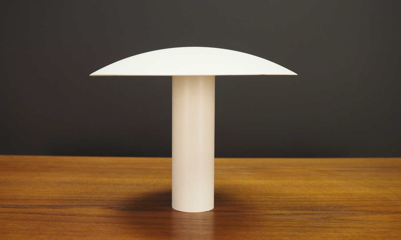 minimalist mid century mushroom table lamp vintage lighting
