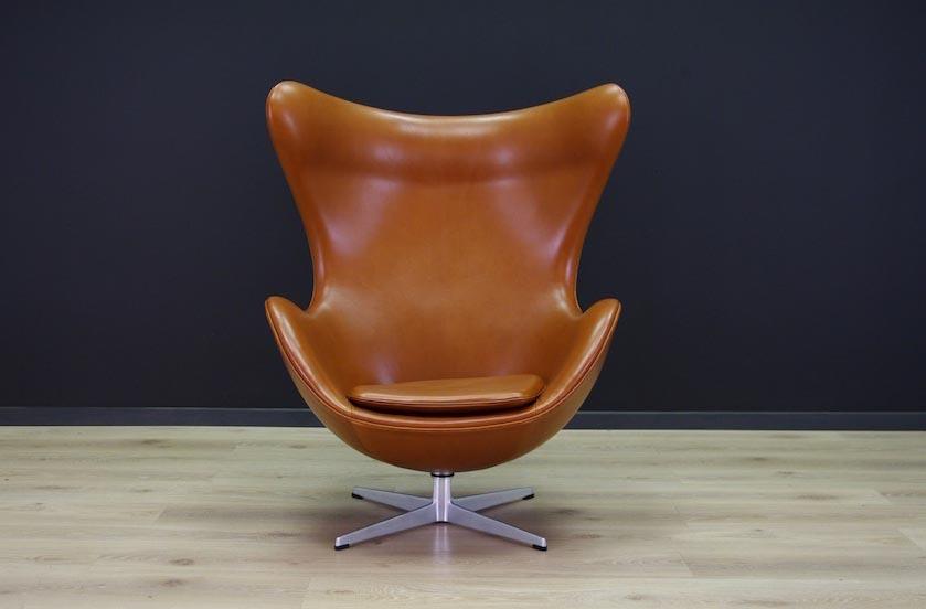 arne jacobsen egg chair mid century modern danish vintage