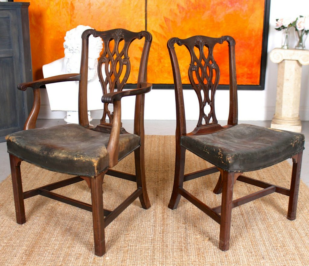 Chippendale style Antique Chairs