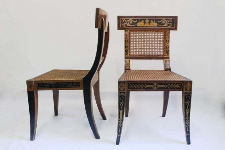 Antique Klismos Chair