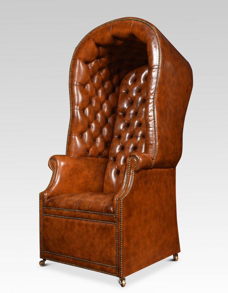 Regency antique Porter's Chair