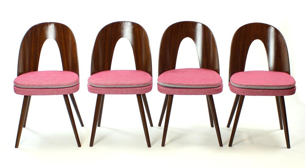 antonin suman mid century dining chairs