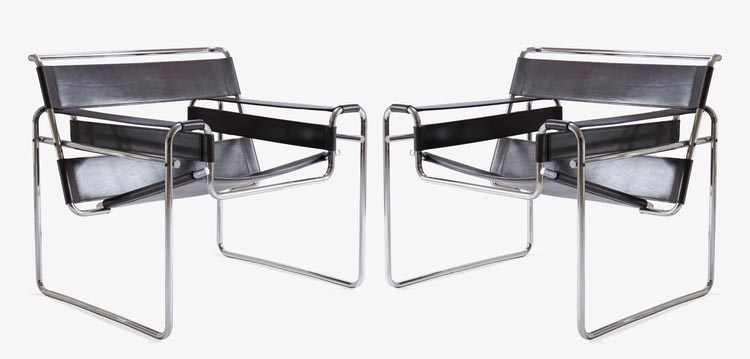 wassily chairs marcel breuer