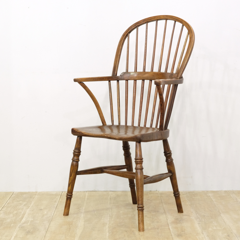 windsor antique wooden chair