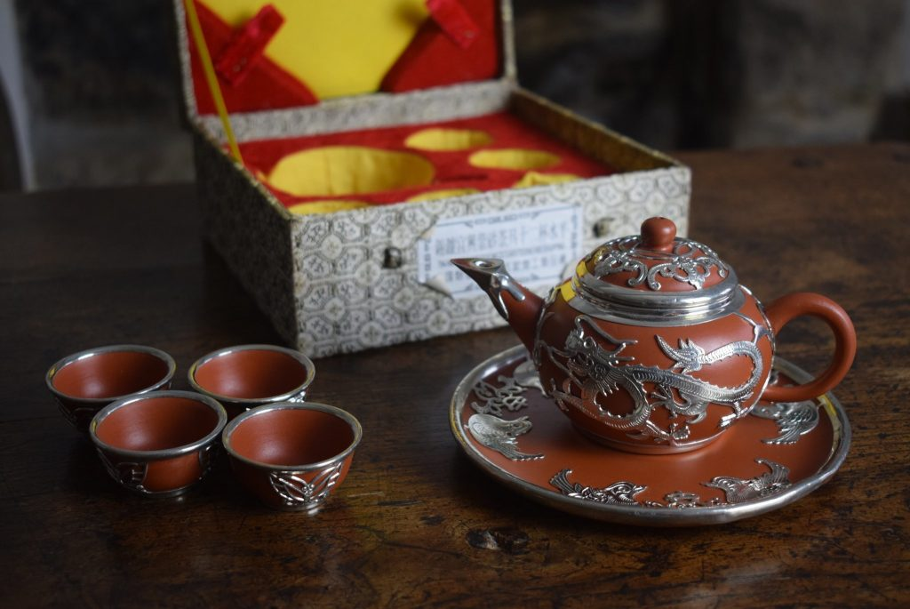 yixing clay teaset