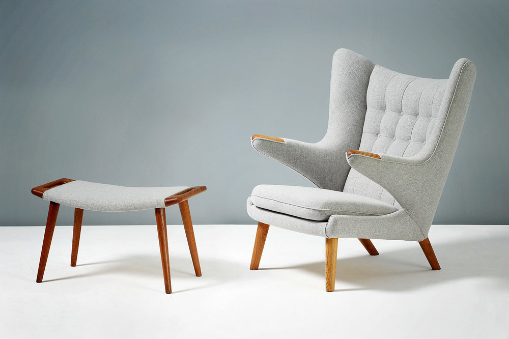 Unique and playful, the iconic papa bear chair
