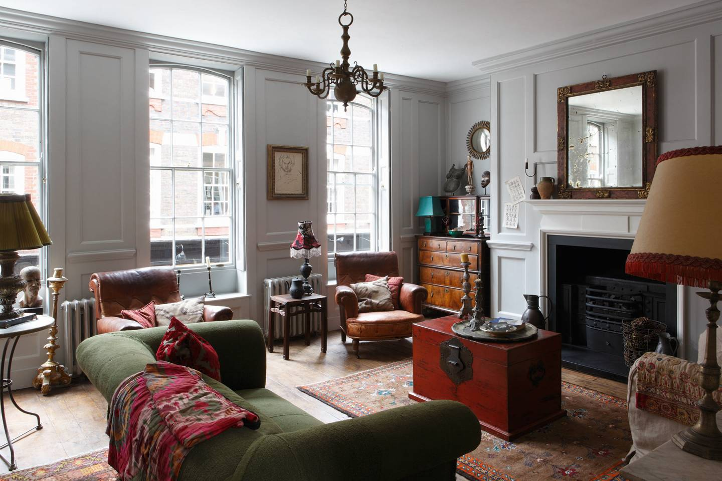 Get the look: Restored Georgian house in Spitalfields