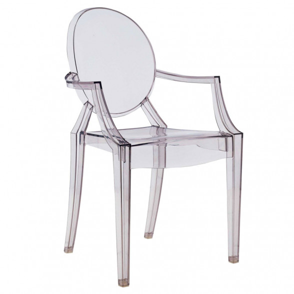 louis ghost chair is a bold design and iconic chair style