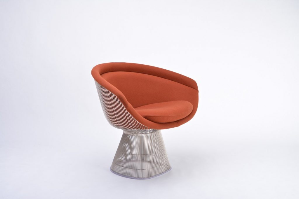 platner arm chair is a unique and iconic design