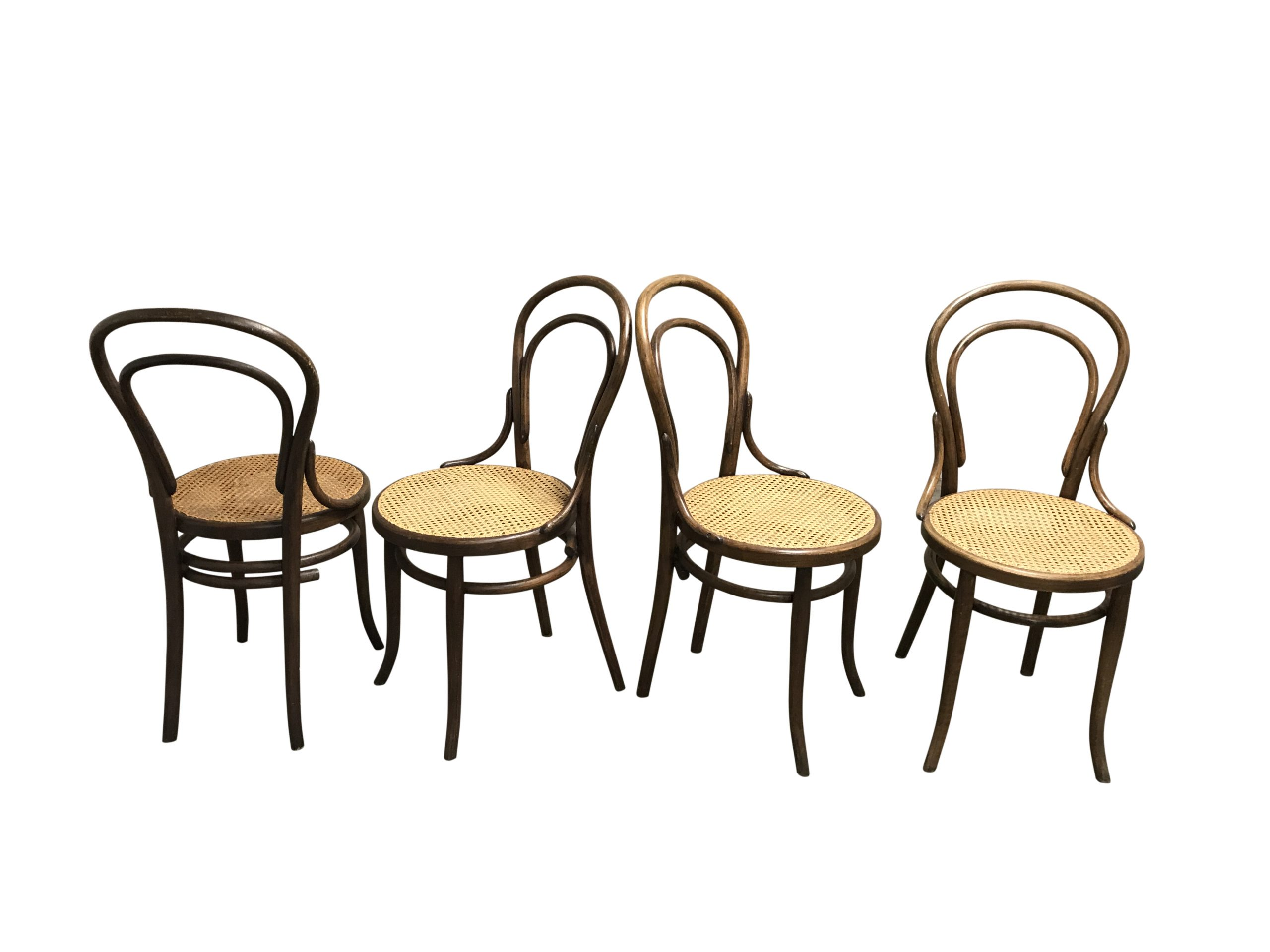 Simple but stylish design, Thonet's iconic no. 14 chair