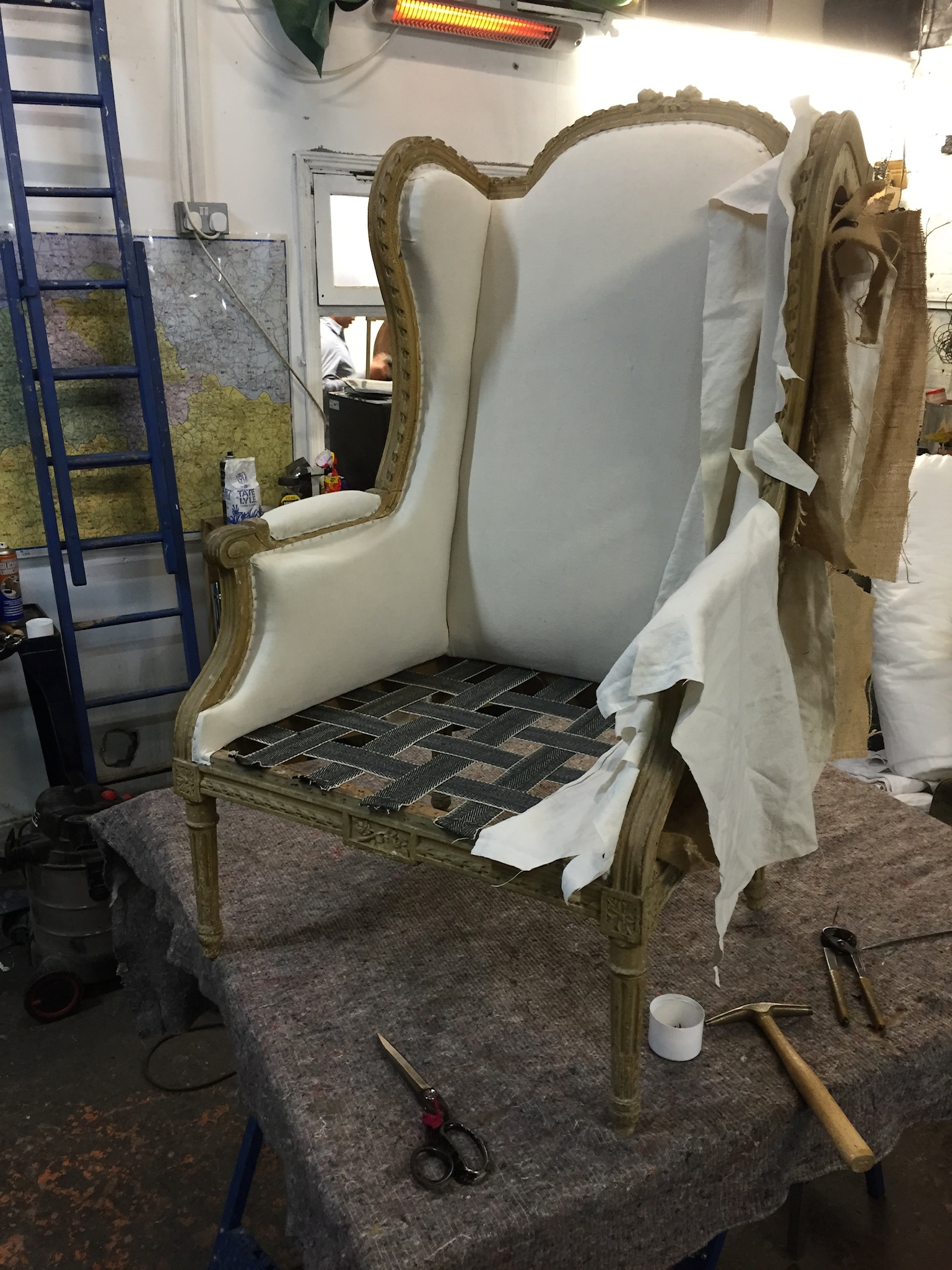 reupholstery chair seating how to diy