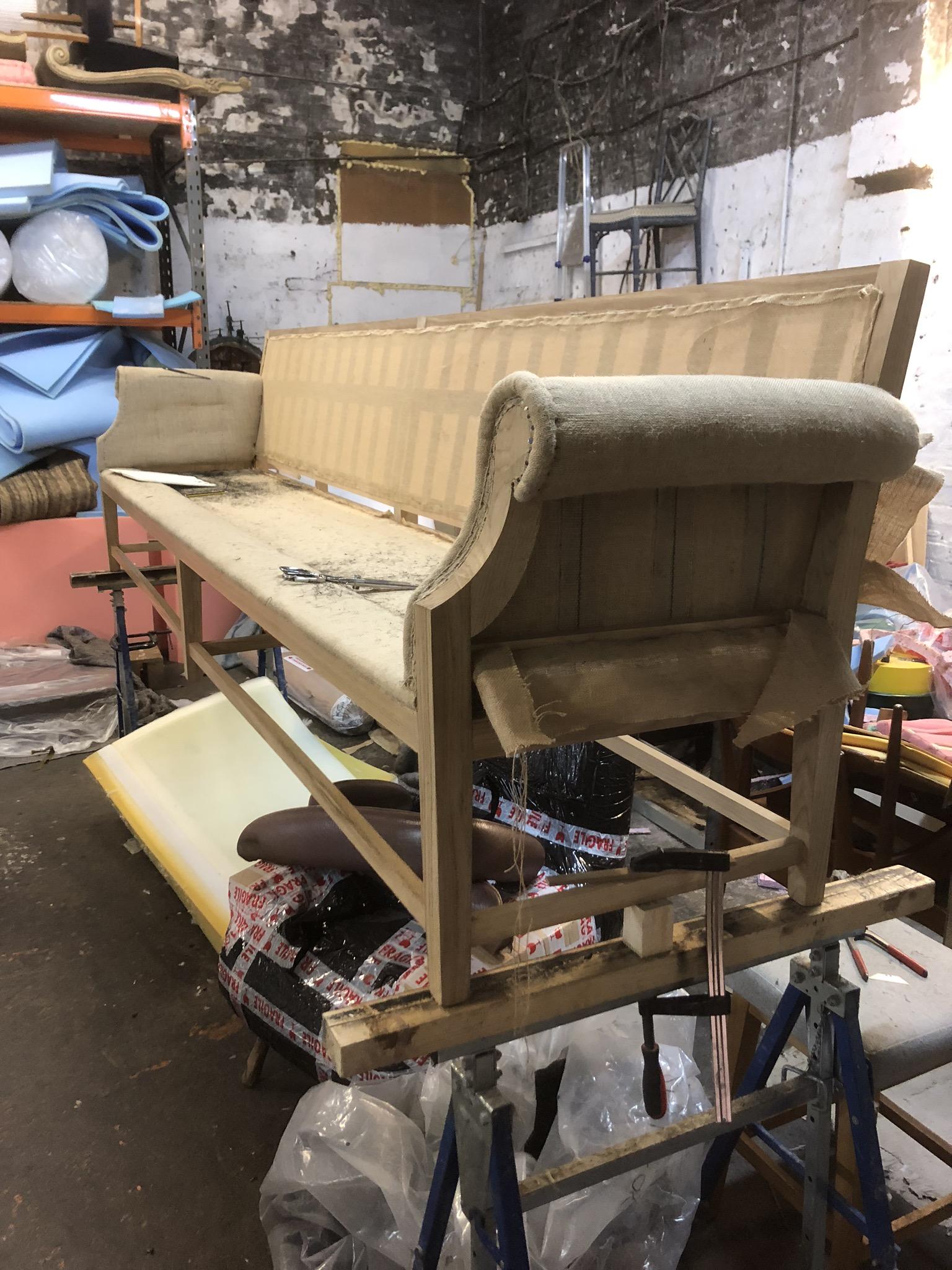sofa diy reupholstery