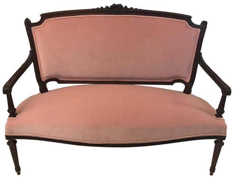 french antique sofa reupholster how to