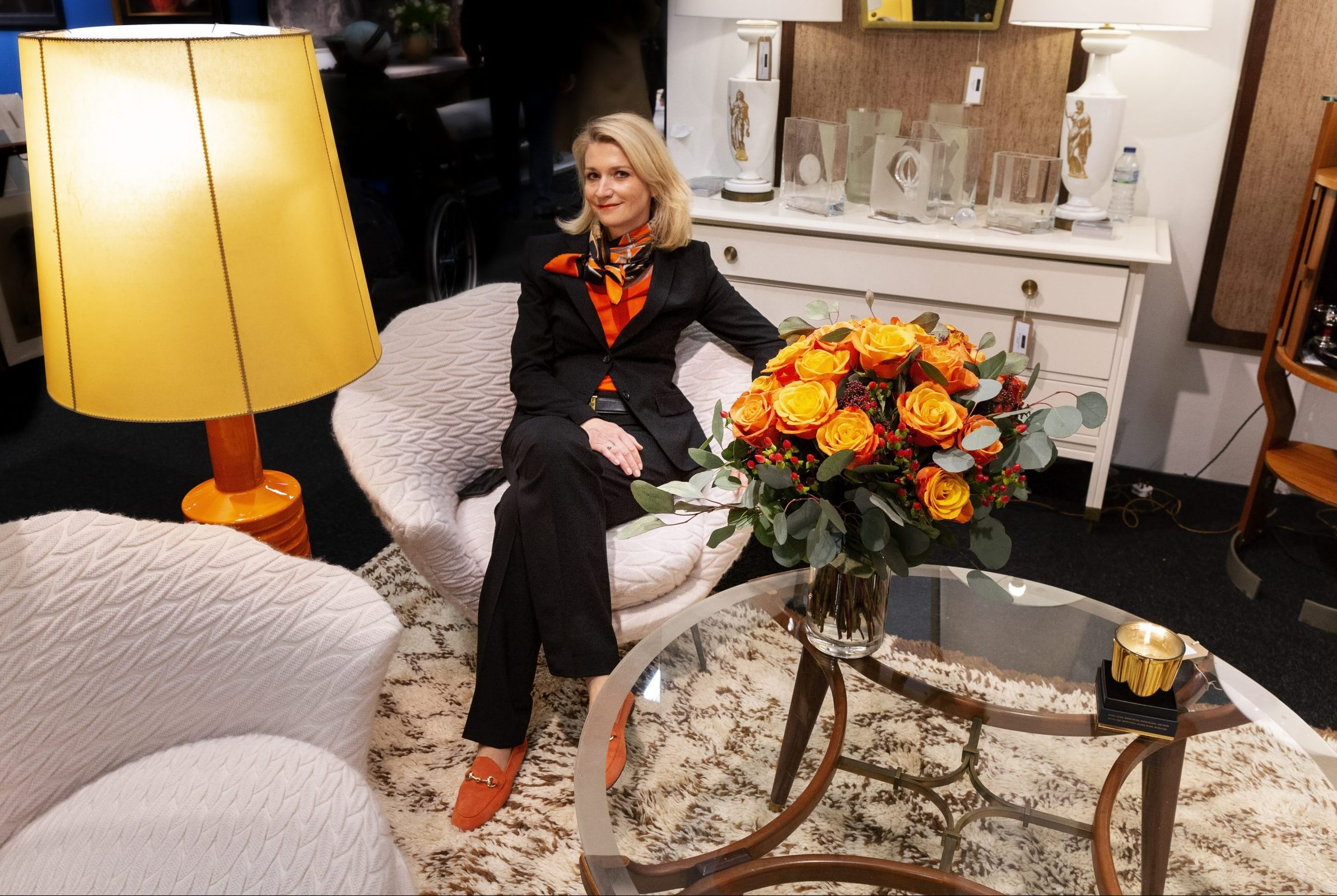 Living in style with Interior designer and art deco aficionado Beata Szabo