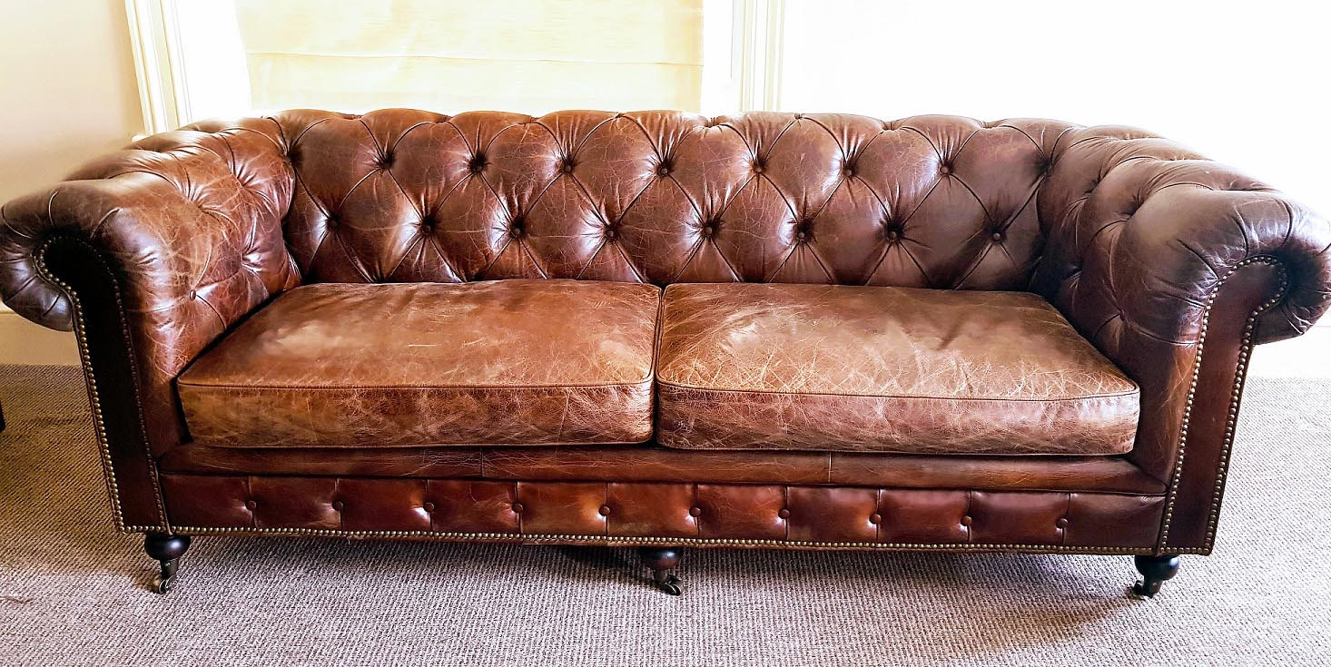 chesterfield antique sofa